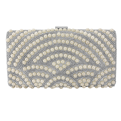 Exquisite Pearl Clutch Bag