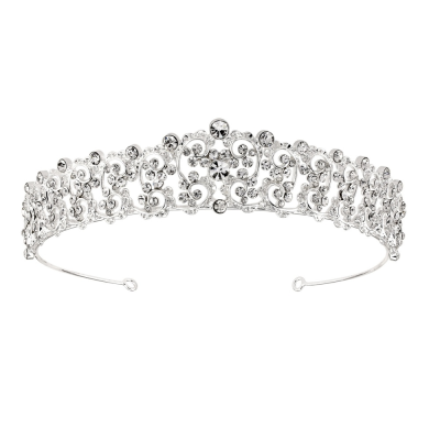 SASSB COLLECTION - CHRISTABEL LUXE TIARA - SILVER