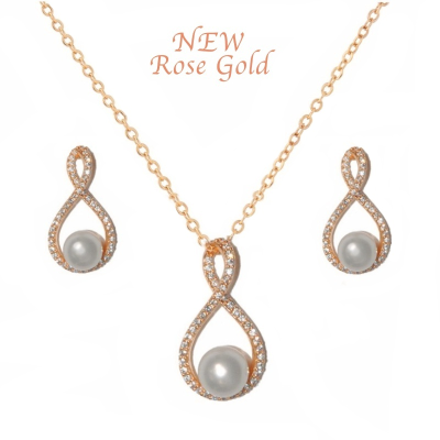 CUBIC ZIRCONIA COLLECTION - EXQUISITE NECKLACE SET(NK2)