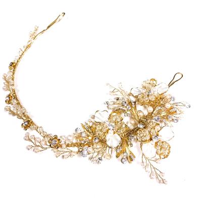 ATHENA COLLECTION - FLORAL ENCHANTMENT VINE - HP195 SILVE GOLD