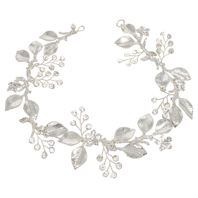 ATHENA COLLECTION - DAZZLING LUXE HAIR VINE - HP180 SILVER