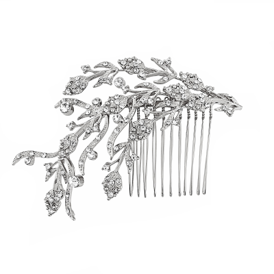 SASSB COLLECTION - EXQUISITE TREASURE COMB -HC36- SILVER