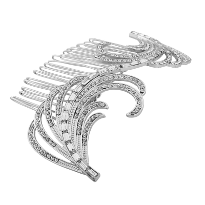 SASSB COLLECTION - GATSBY EXTRAVAGANCE COMB - SILVER