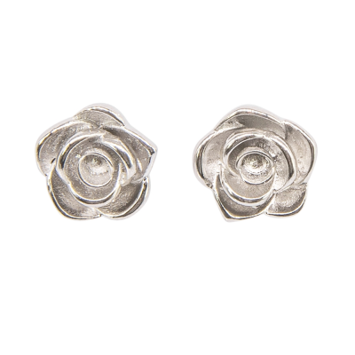 ATHENA COLLECTION - VINTAGE ROSE EARRINGS - CZER574