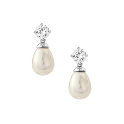 CUBIC ZIRCONIA COLLECTION - TIMELESS ELEGANCE EARRINGS - CZER429