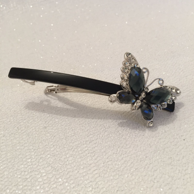 SALE ITEM - VINTAGE CLIP - swarovski elements