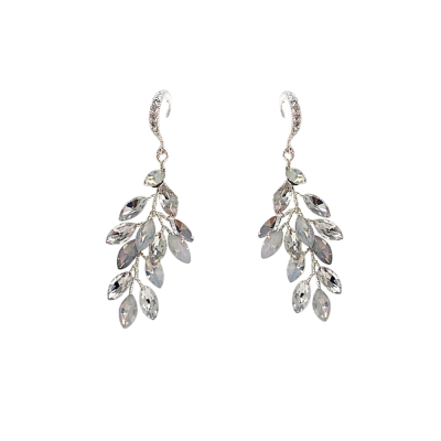 ATHENA COLLECTION - CHIC VINE EARRINGS - (ER489) OPAL