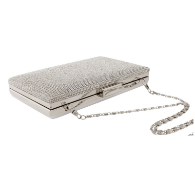 Chic Crystal Bag - Silver