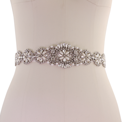 ATHENA COLLECTION - EXQUISITE WEDDING BELT 14 -  IVORY