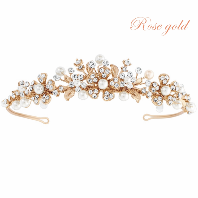 SASSB COLLECTION - ELLEN TIARA - SASSB - 9  ROSE GOLD