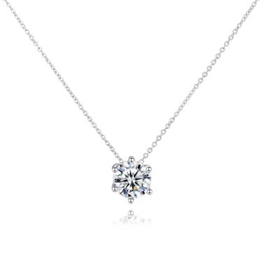 CUBIC ZIRCONIA COLLECTION - SIMULATED DIAMOND NECKLACE - CZNK118