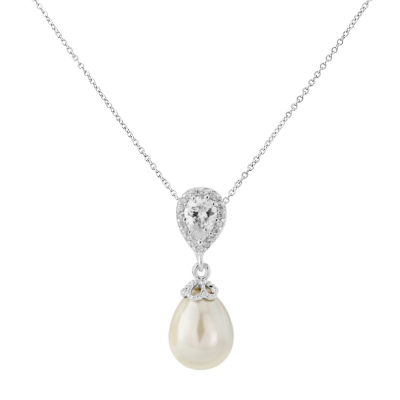 CUBIC ZIRCONIA COLLECTION - PRECIOUS SHIMMER NECKLACE - CZNK84