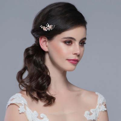 SASSB COLLECTION - VINTAGE CHIC HAIR CLIP - HC30 ROSE GOLD