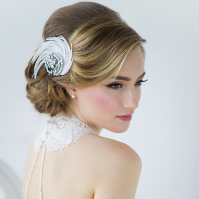 Adoria Luxe Feather Headpiece - SASSB HP-14