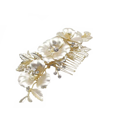 ATHENA COLLECTION - SHIMMERING BRIDAL COMB - HC212
