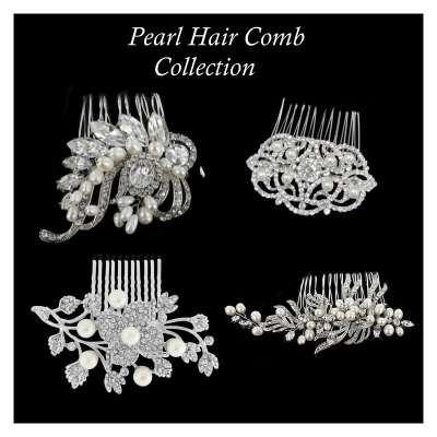 Pearl Hair Comb Collection