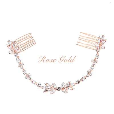 ATHENA COLLECTION - DAINTY CRYSTAL VINE - HC181 ROSE GOLD