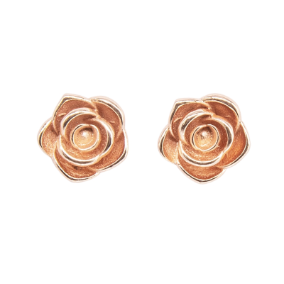ATHENA COLLECTION - VINTAGE ROSE EARRINGS - CZER574 ROSE GOLD