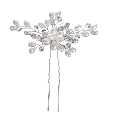 ATHENA COLLECTION - PEARL CLUSTER HAIR PIN - PIN30