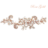 SASSB COLLECTION - ELISE EXQUISITE HEADPIECE - ROSE GOLD
