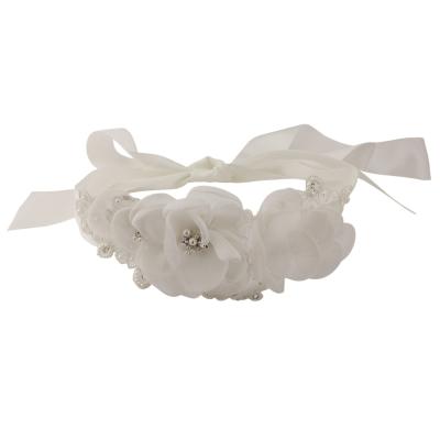 Chic Bridal Sash - Ivory - Sash 8