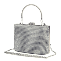 STARLET LUXE - CRYSTAL BAG - SILVER