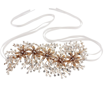 SASSB COLLECTION - ENCHANTING BEJEWELLED HEADPIECE - ROSE GOLD