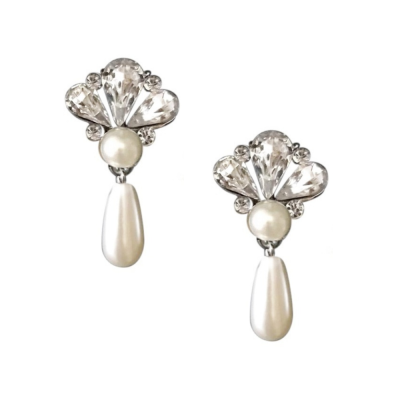 SASSB COLLECTION - GATSBY PEARL DROP EARRINGS - SASSB - (ER410)
