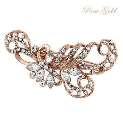 SASSB COLLECTION - ENCHANTING BEAUTY HAIR CLIP -HC37- ROSE GOLD