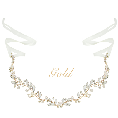 ATHENA COLLECTION - CHIC PEARL VINE - HP171 - GOLD