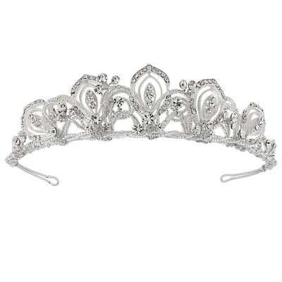 MONIQUE TIARA - SASSB - EXQUISITE TIARA - SILVER