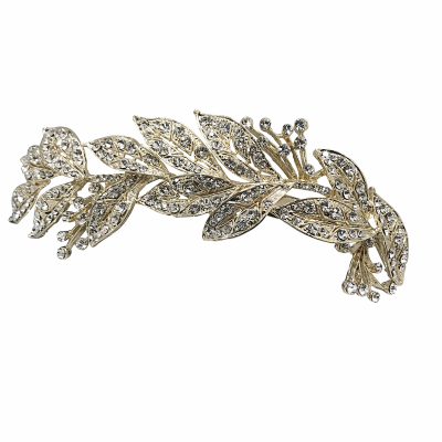 ELITE COLLECTION - GRECIAN STYLE BRIDAL HEADPIECE - HP121 GOLD
