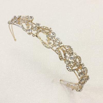 Gold headband - one off sample