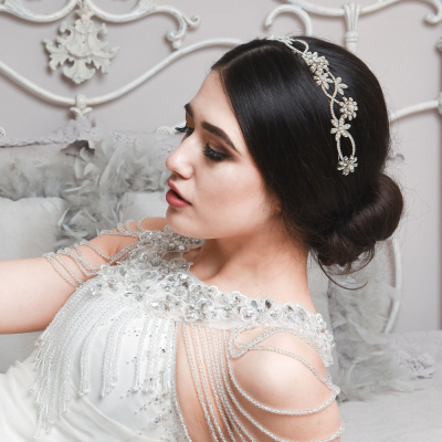 ELITE COLLECTION - EXQUISITE PEARL HEADBAND HB365