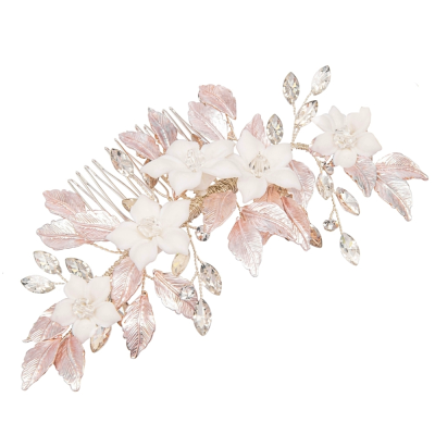 ATHENA COLLECTION - BLUSH BEAUTY HAIR COMB - HC216