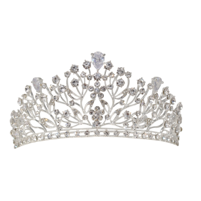 ATHENA COLLECTION - CRYSTAL EXTRAVAGANCE CROWN - AHB30
