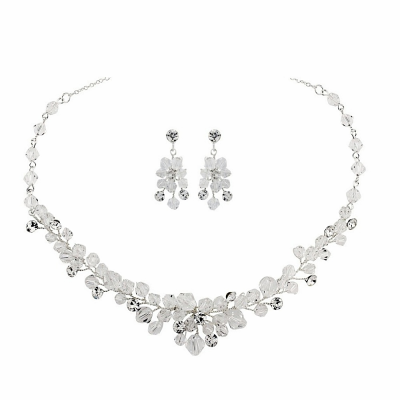 ATHENA COLLECTION - CHIC CRYSTAL NECKLACE SET - NK138