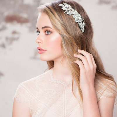 ELITE COLLECTION - Grecian Style Bridal Headpiece - HP121